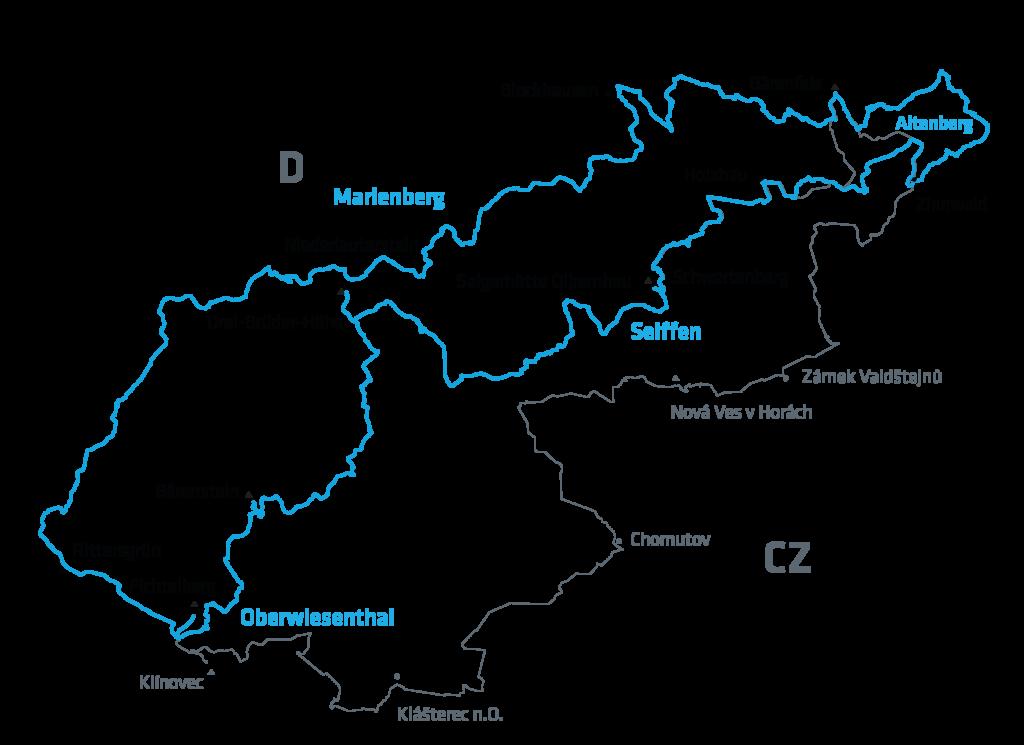 Stoneman Miriquidi Road/Rennrad: Strecke 2020 Erzgebirge