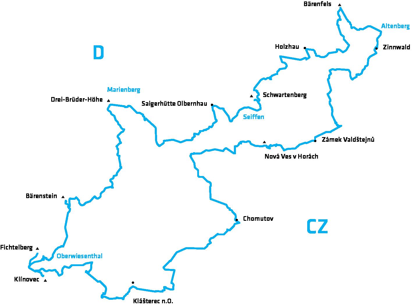 Stoneman Miriquidi Road Rennrad Strecke