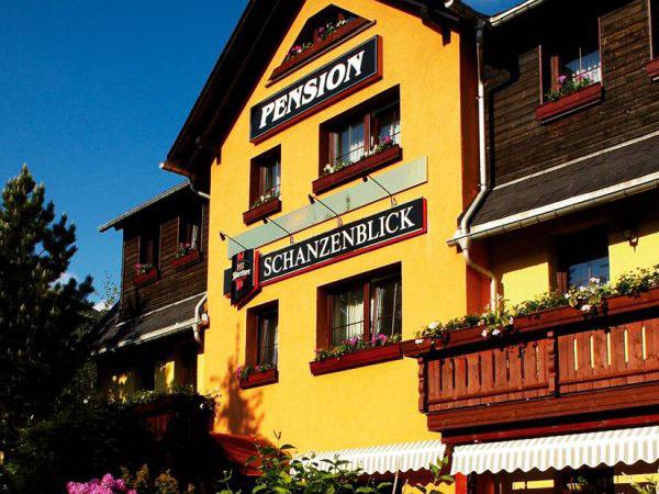 Pension Schanzenblick Oberwiesenthal, city – Logis-Partner Stoneman Glaciara Mountainbike